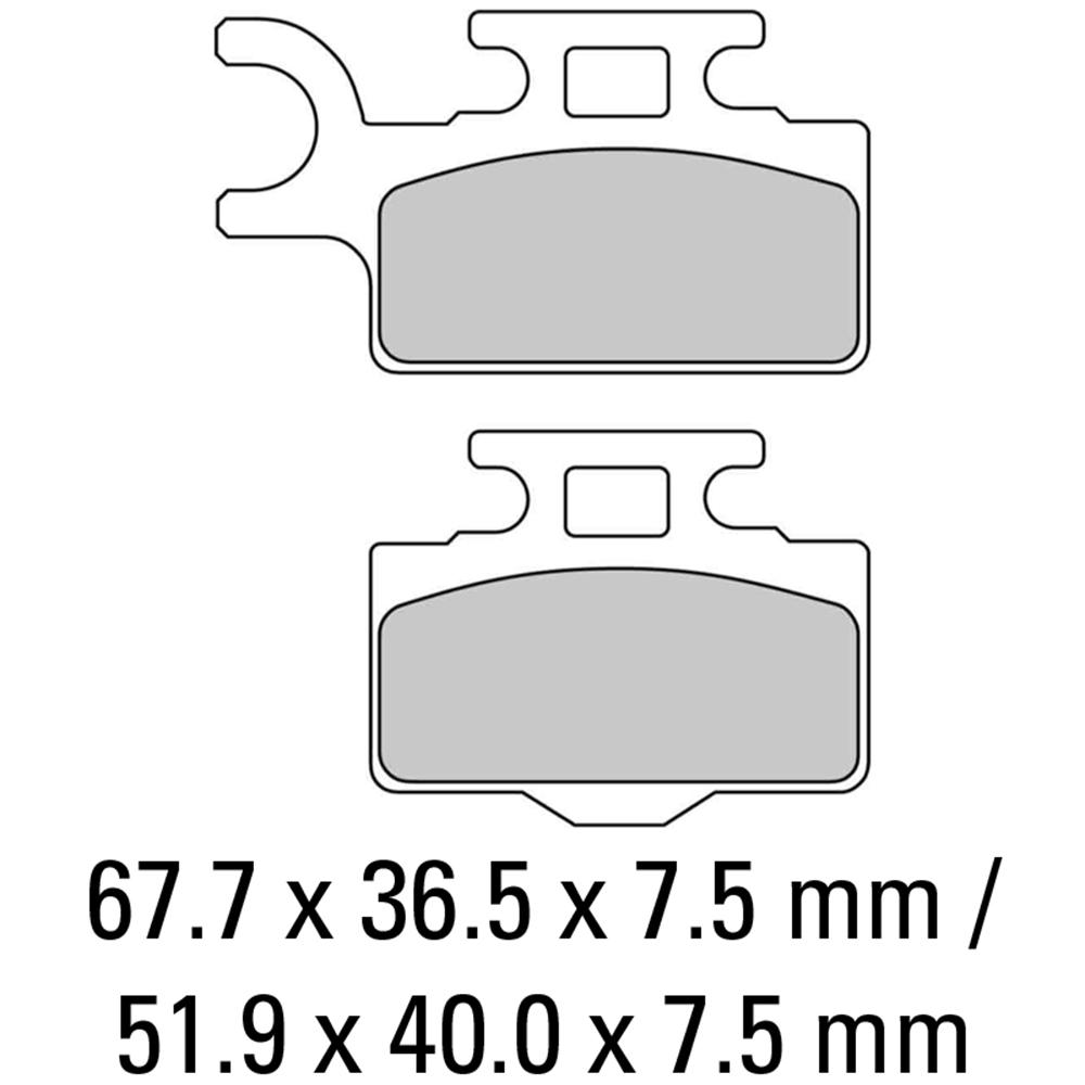 Ferodo FDB2110SG Brake Pads