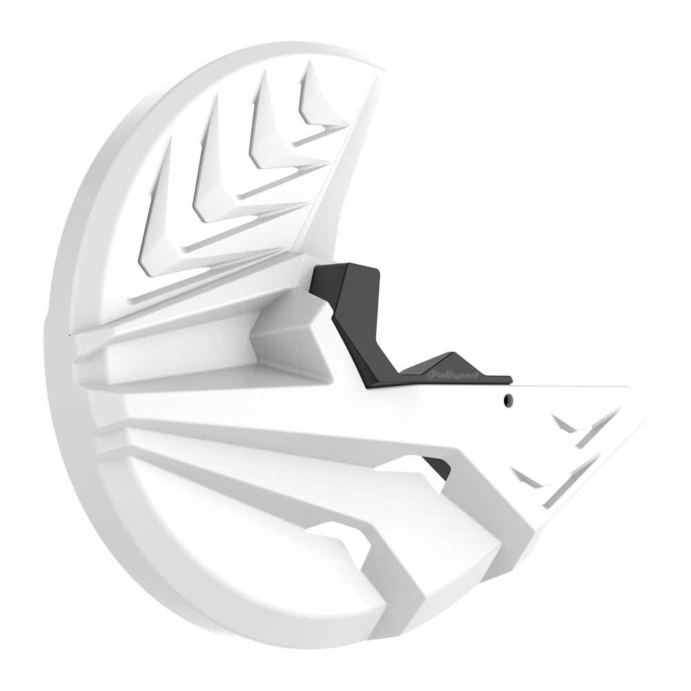Polisport Honda CRF250/450 15-20 White Disc & Bottom Fork Protector