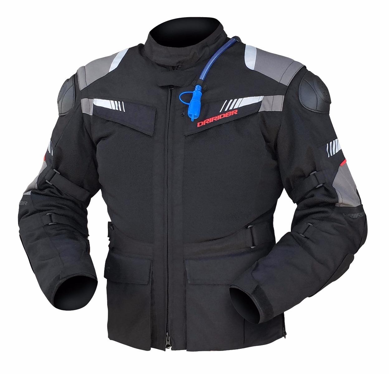 Dririder Rallycross Pro 3 Black/Black Jacket