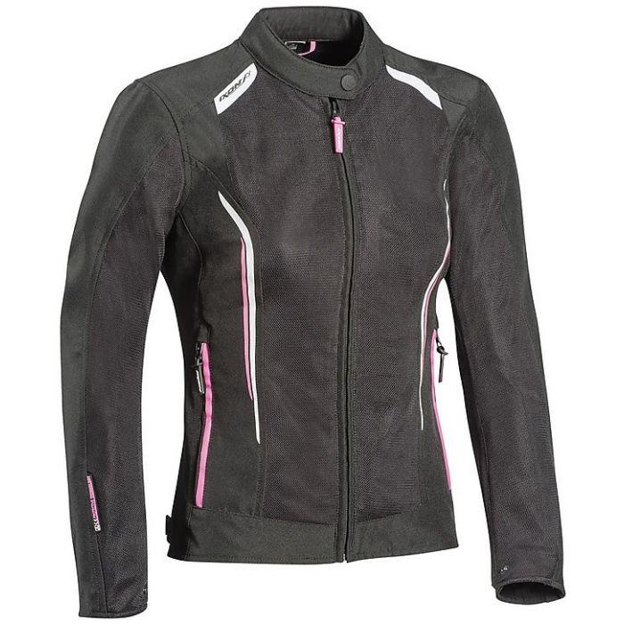 Ixon Women's Cool Air Black/Pink/White Jacket