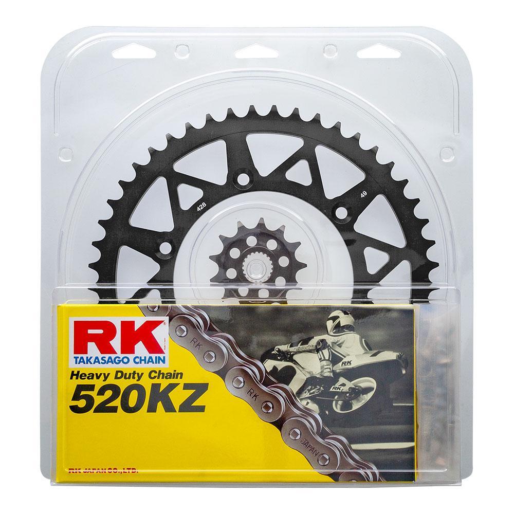 RK Lite Honda CR250R 92-07 Black 13/50 Chain & Sprocket Kit