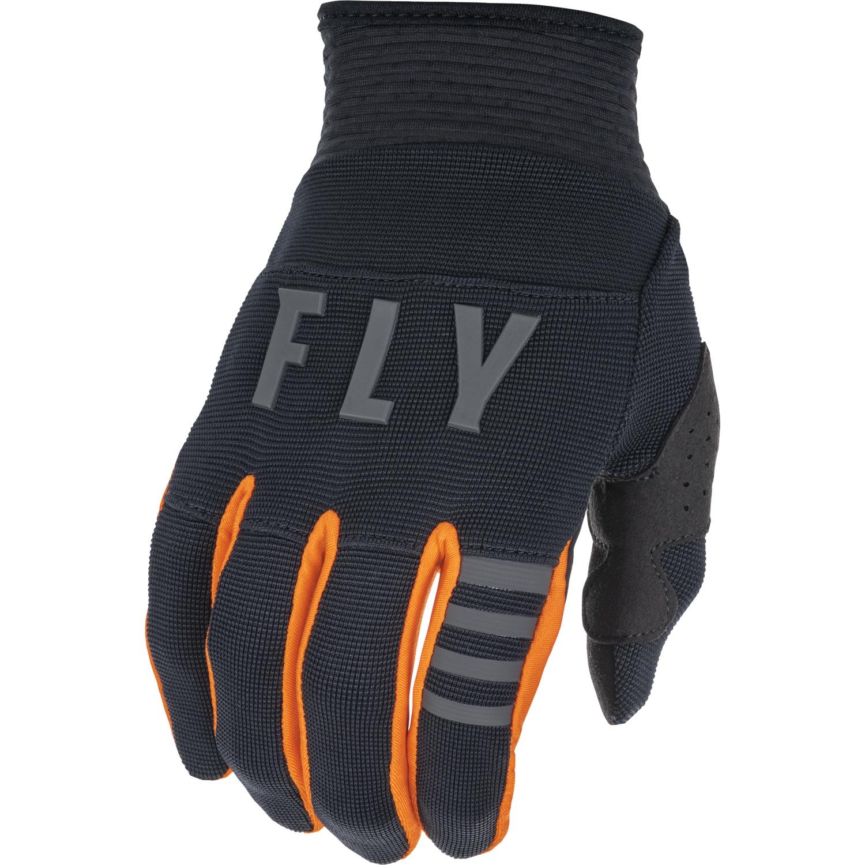 Fly Racing 2022 Youth F-16 Black/Orange Gloves