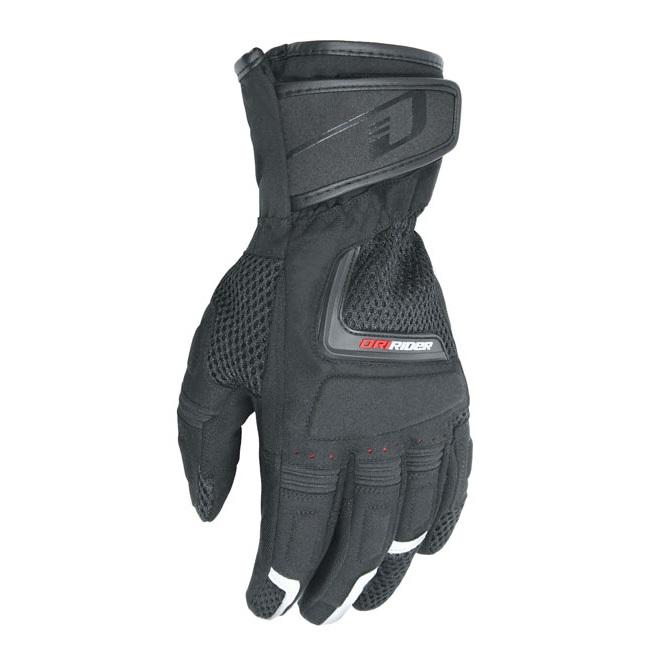 Dririder Vortex Adventure Black Gloves