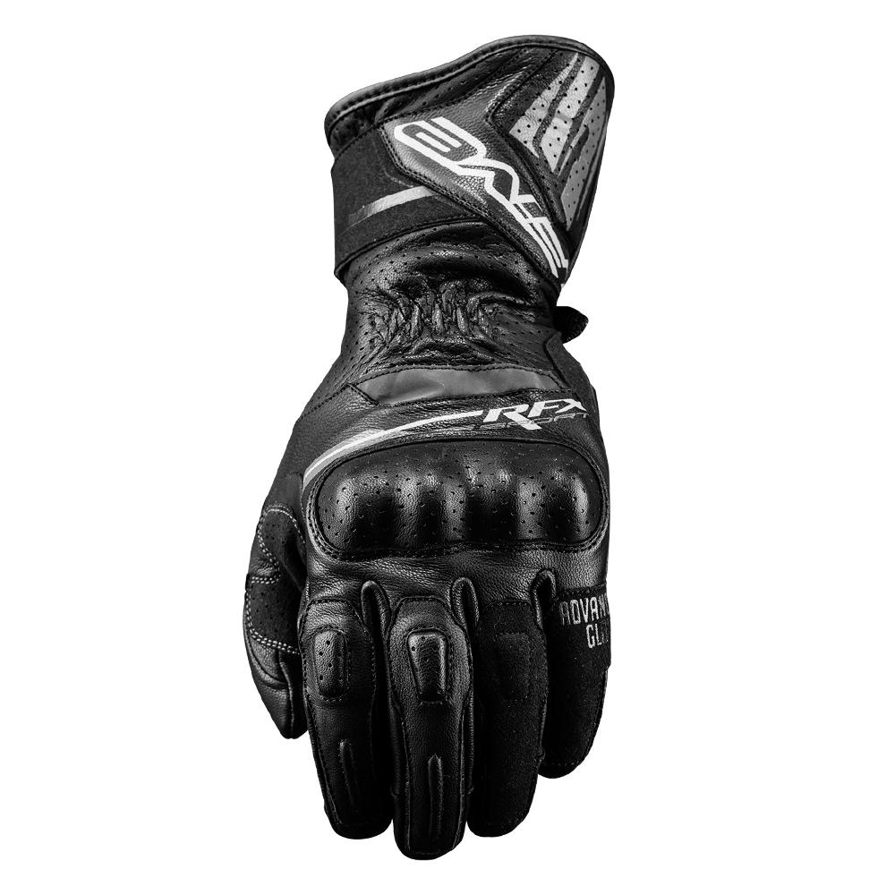 Five RFX Sport Black Gloves