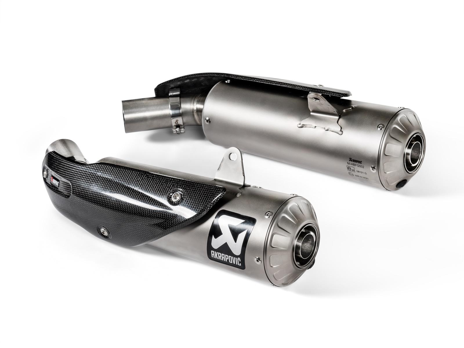 Akrapovic Ducati Scrambler 1100 18-19 Slip-On Exhaust System