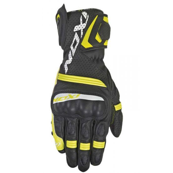 Ixon RS Tempo Air Black/Bright Yellow Gloves