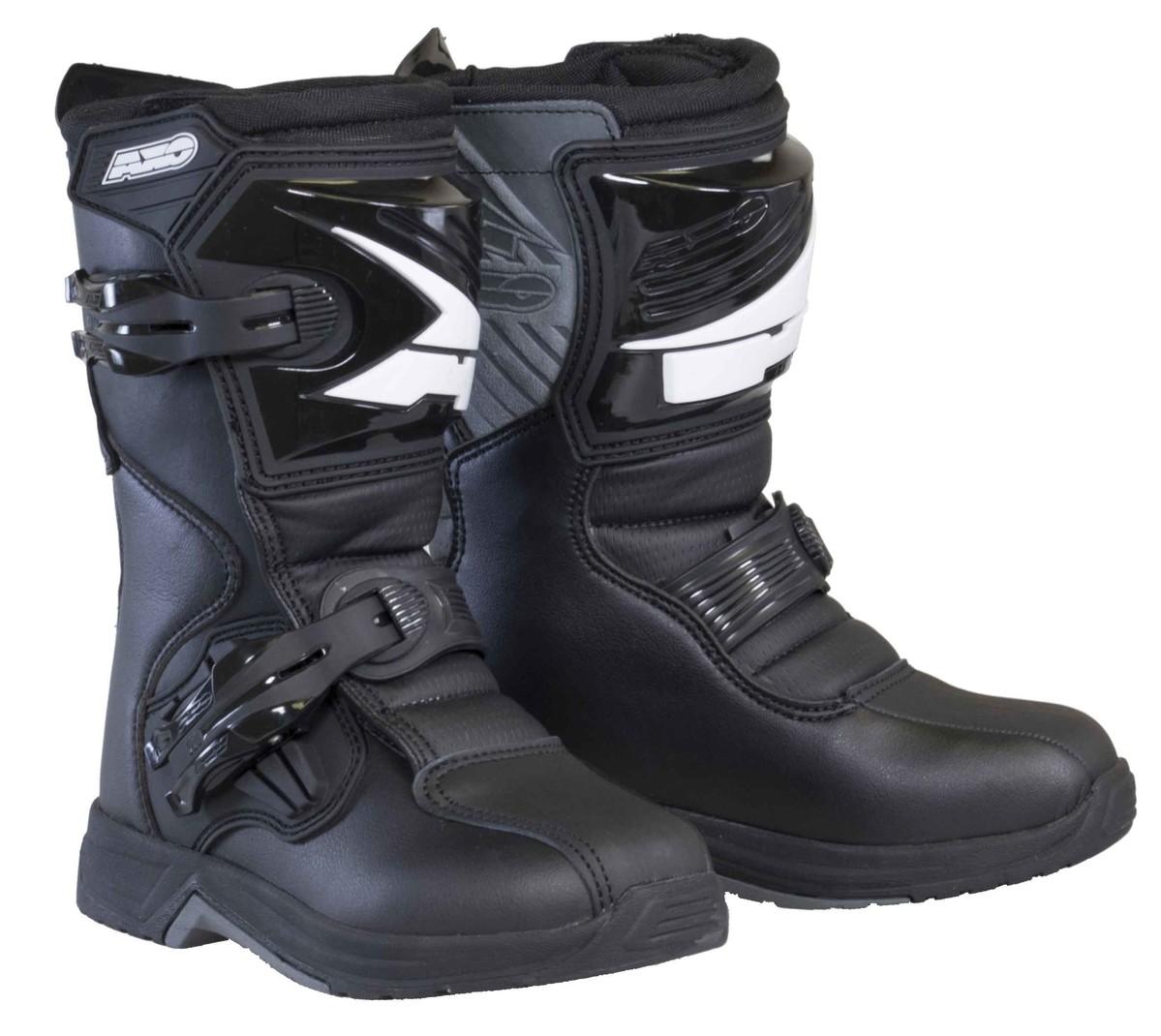 AXO PeeWee Drone Black Boots