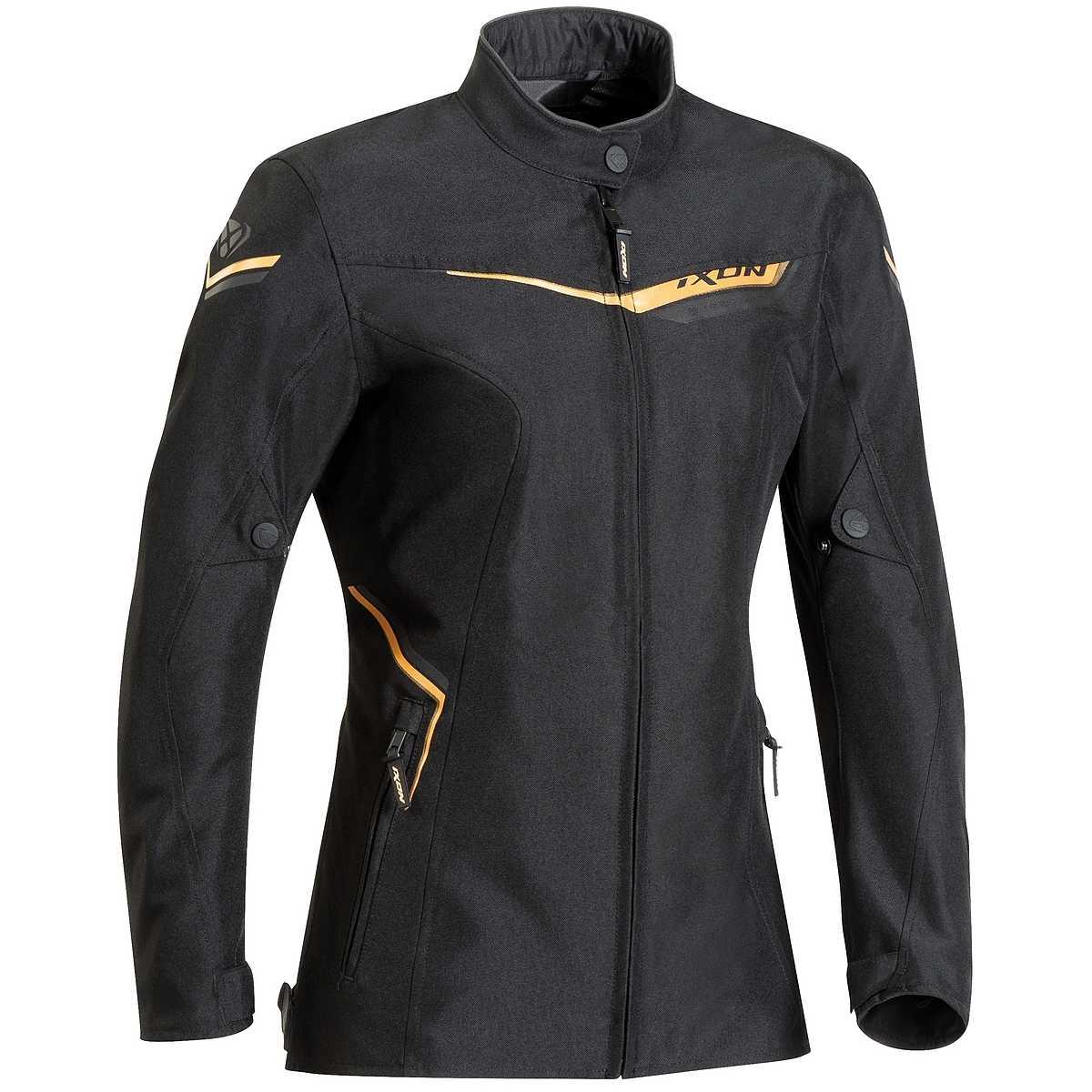 Ixon Women's Slash Black/Gold Jacket