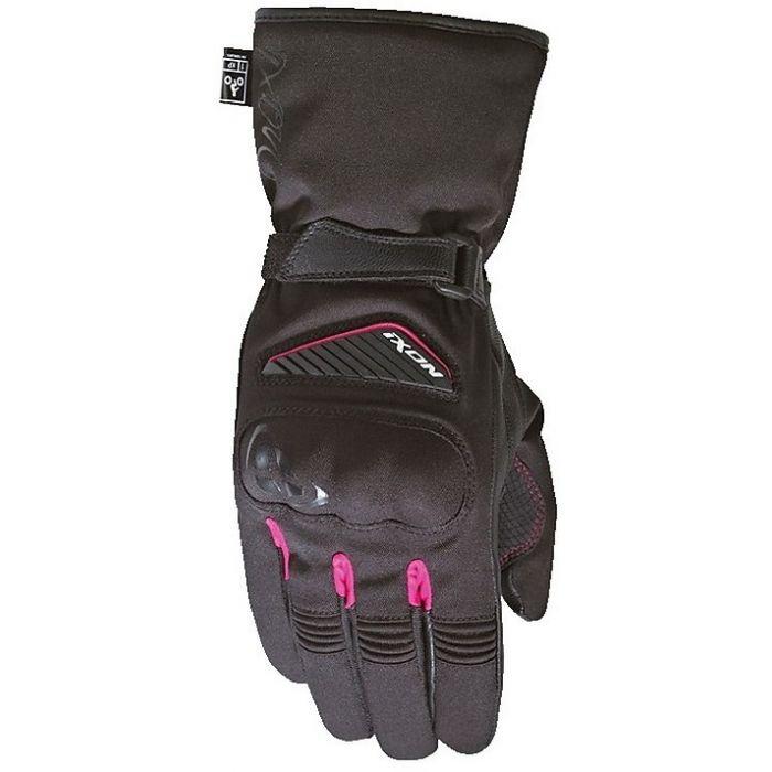 Ixon Women's Pro Arrow Black/Fuschia Gloves