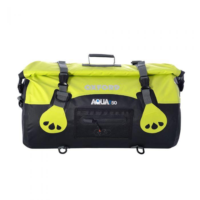 Oxford Aqua T-50L Black/Fluro Roll Bag