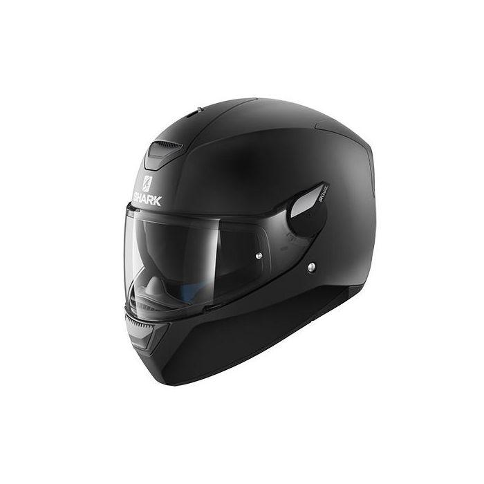 Shark D-Skwal Blank Matt Black Helmet