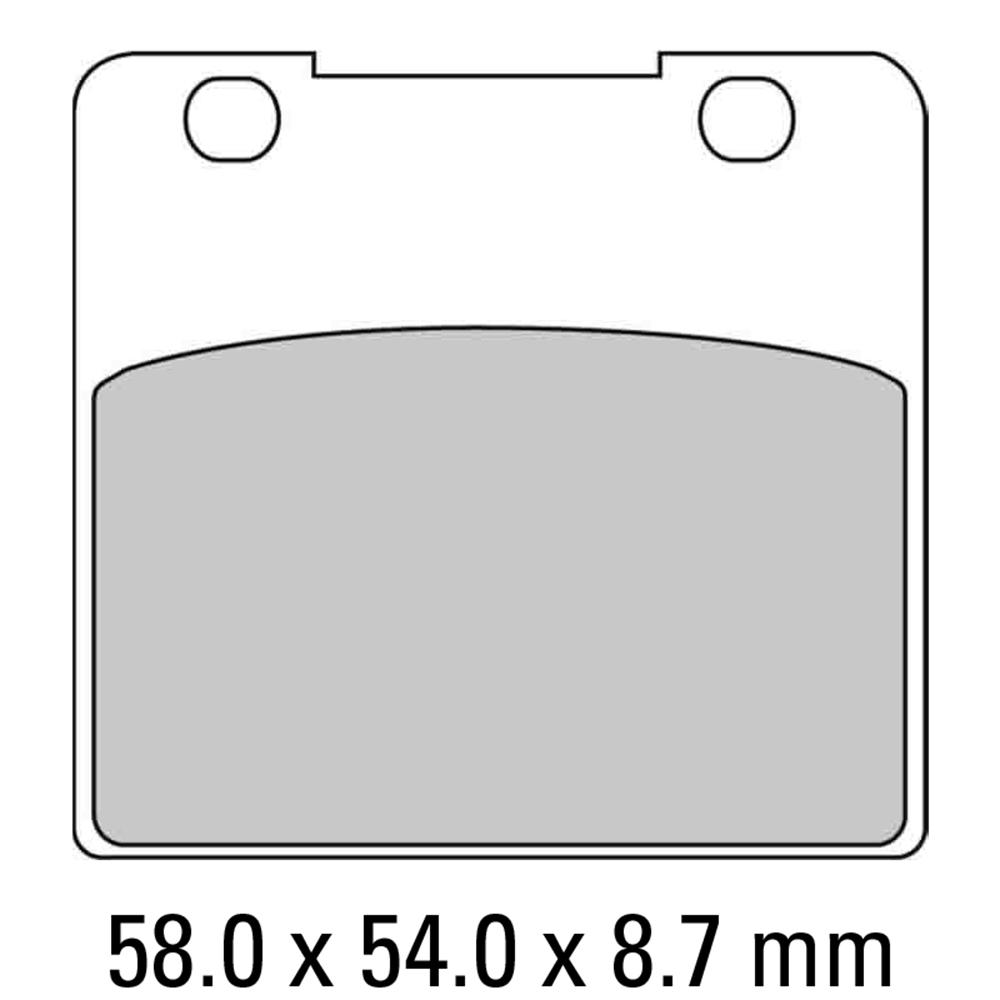 Ferodo FDB389P Brake Pads