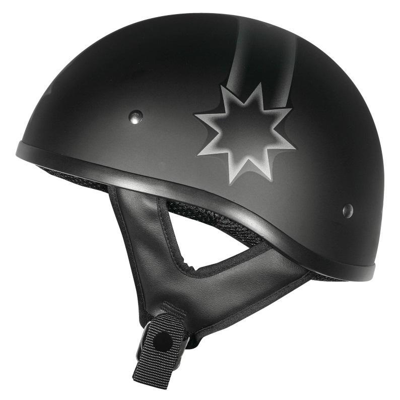 M2R Rebel Last Stand No Peak Matte Helmet
