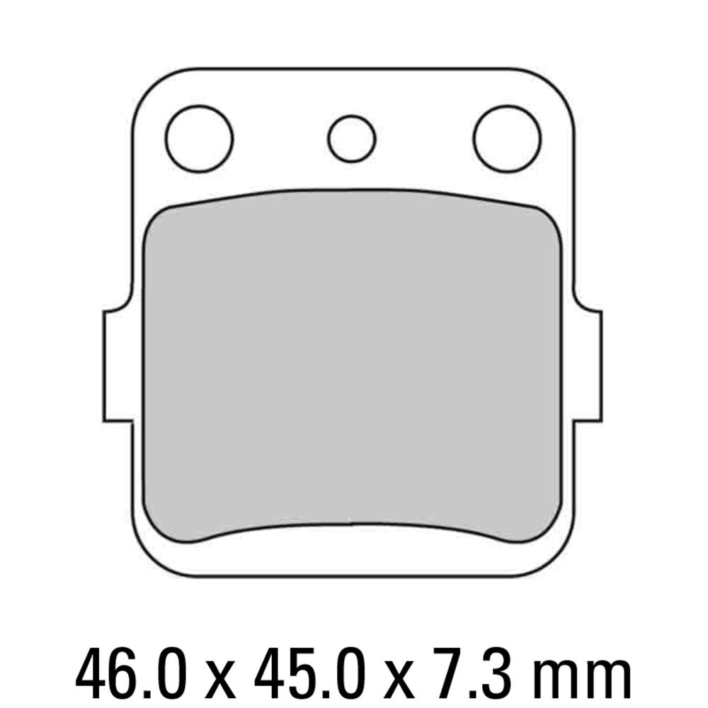 Ferodo FDB381SG Brake Pads