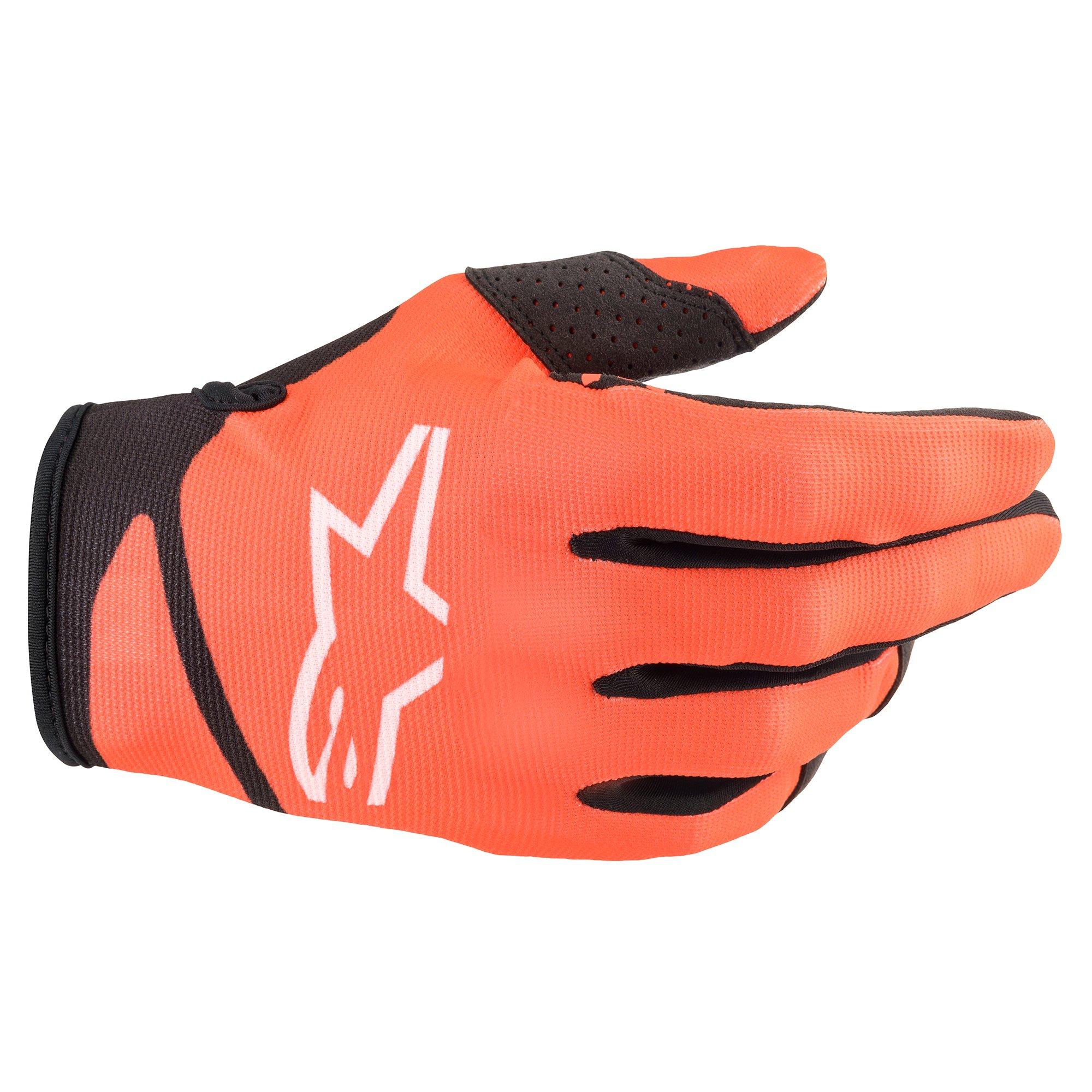 Alpinestars 2022 Youth Radar Orange/Black Gloves