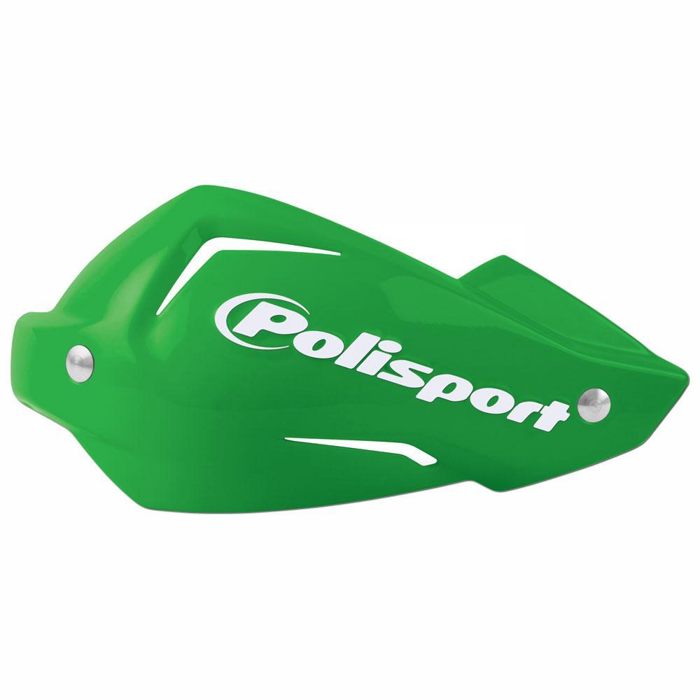 Polisport Green Touquet Handguards Plastic Part with Bolts