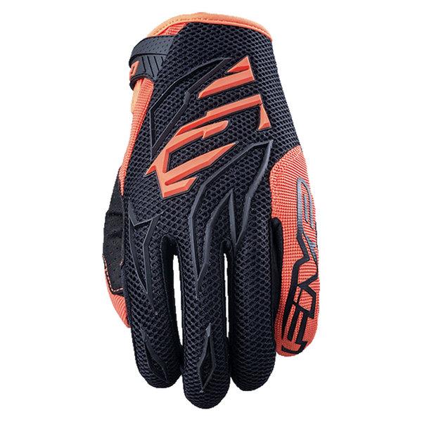 Five Kids MXF-3 Black/Fluro Orange Gloves