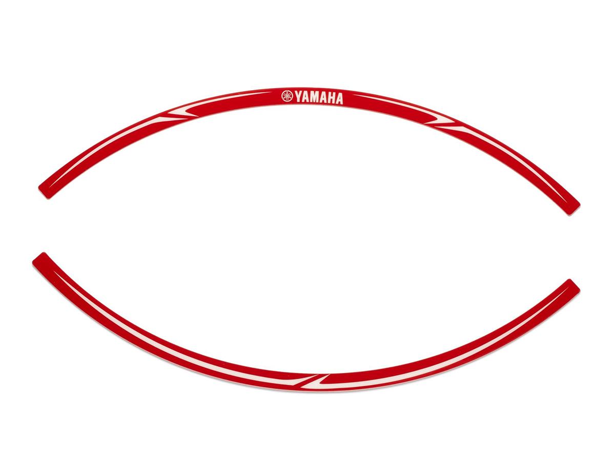 Yamaha MT-07 Red Rim Sticker
