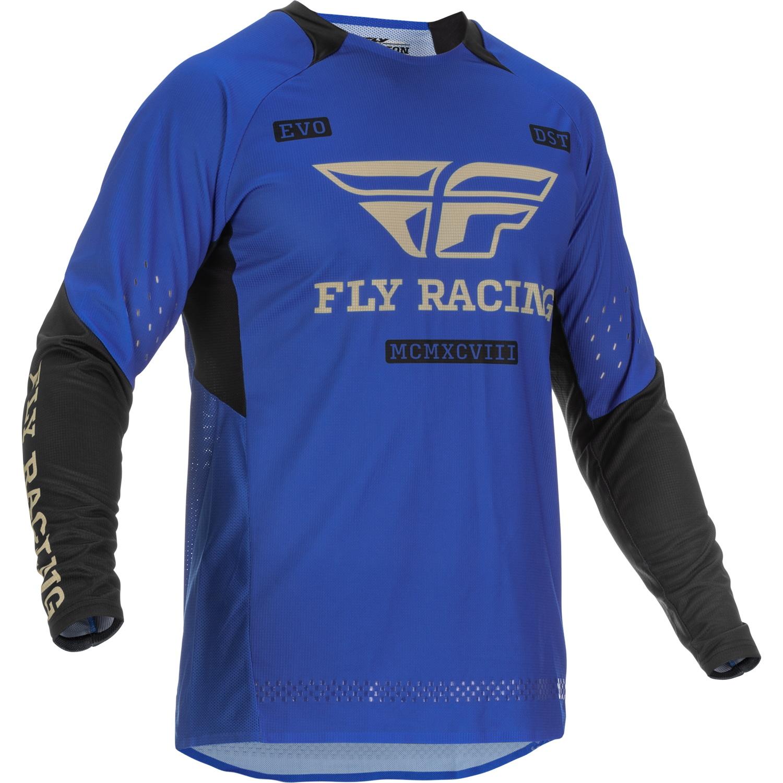 Fly Racing 2022 Evolution DST Blue/Black Jersey