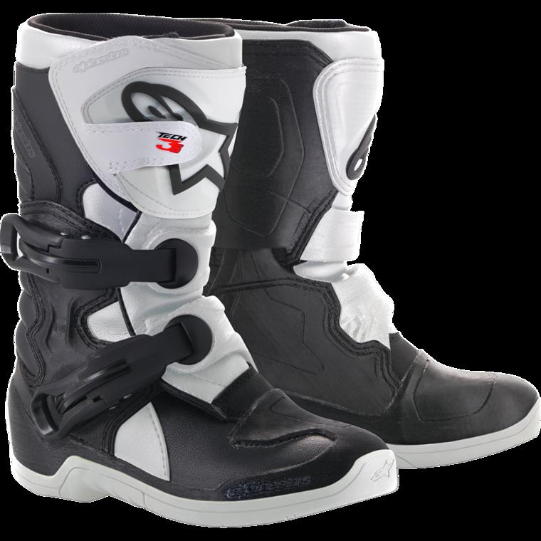Alpinestars Kids Tech 3S Black/White Boots