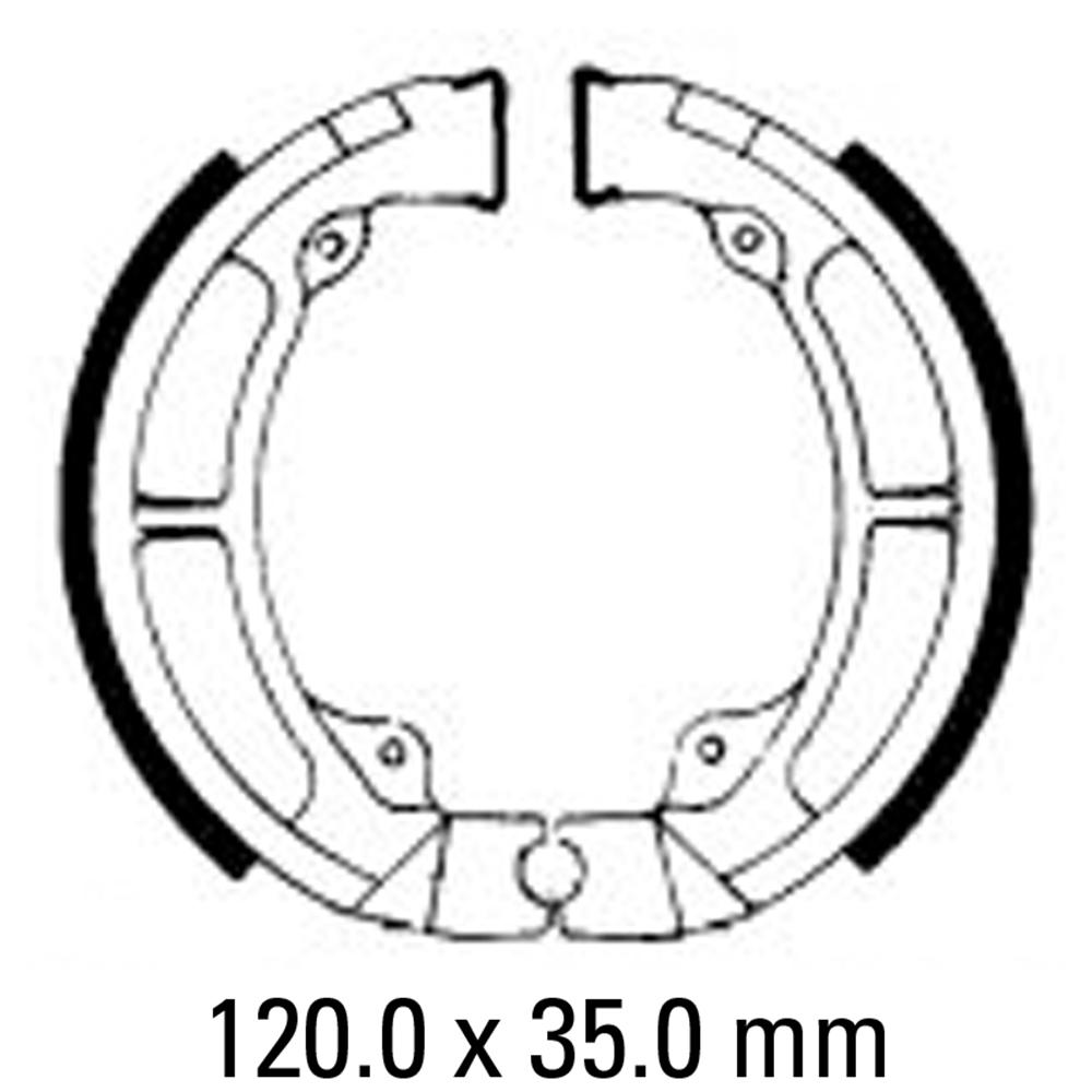 Ferodo FSB717 Brake Shoe Set