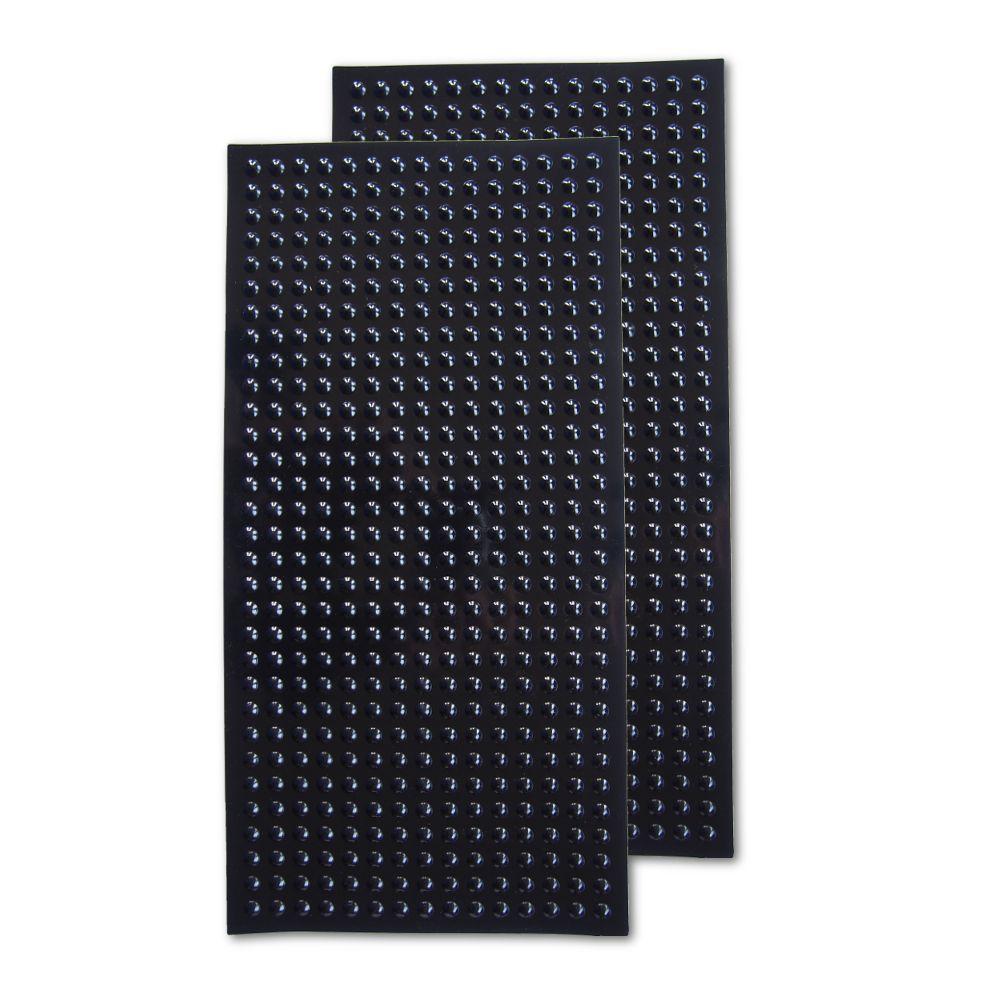 Eazi-Grip EVO (DIY cut to shape) 2 x Universal Sheets Black Tank Grips