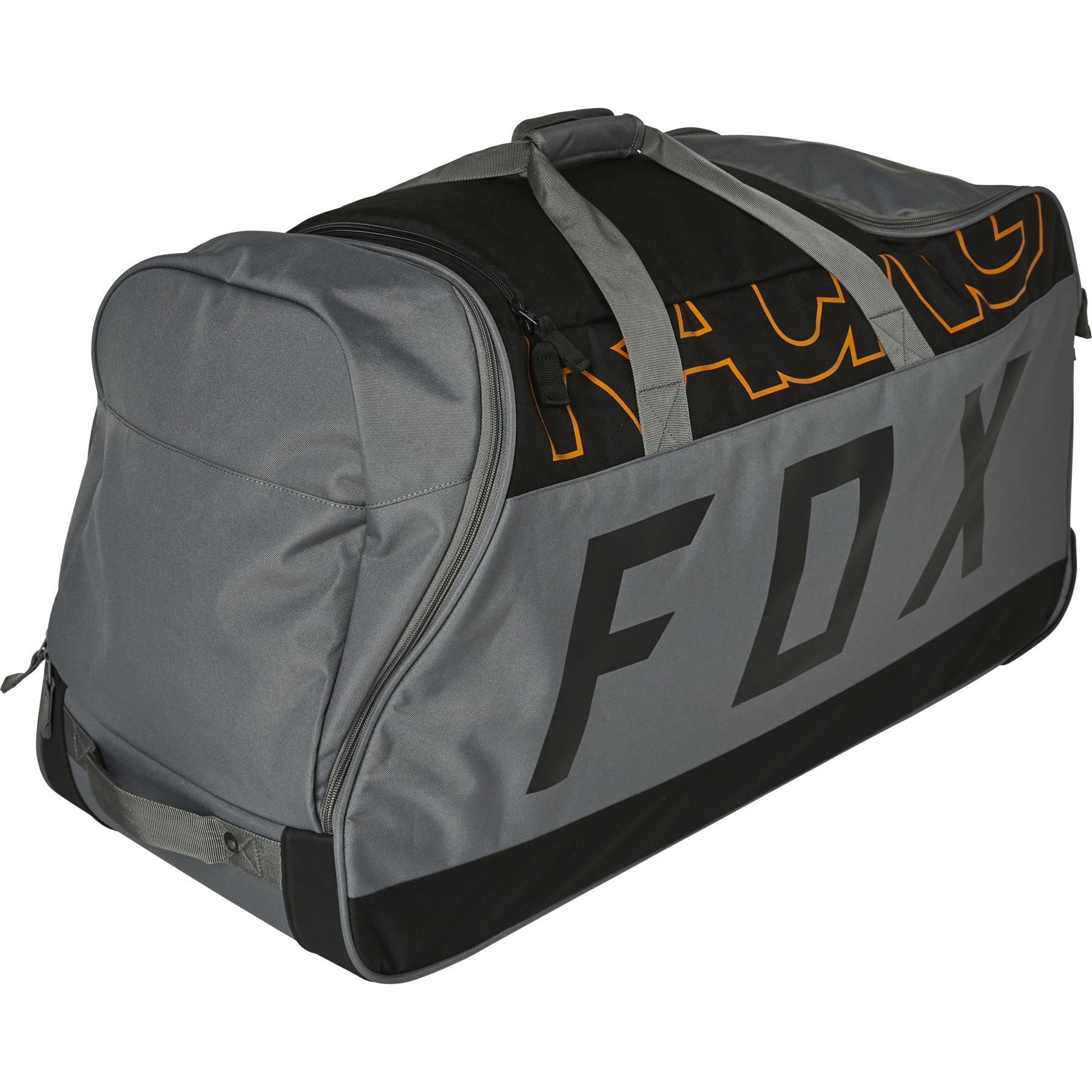 Fox 2022 Skew Shuttle 180 Black/Gold Roller Bag