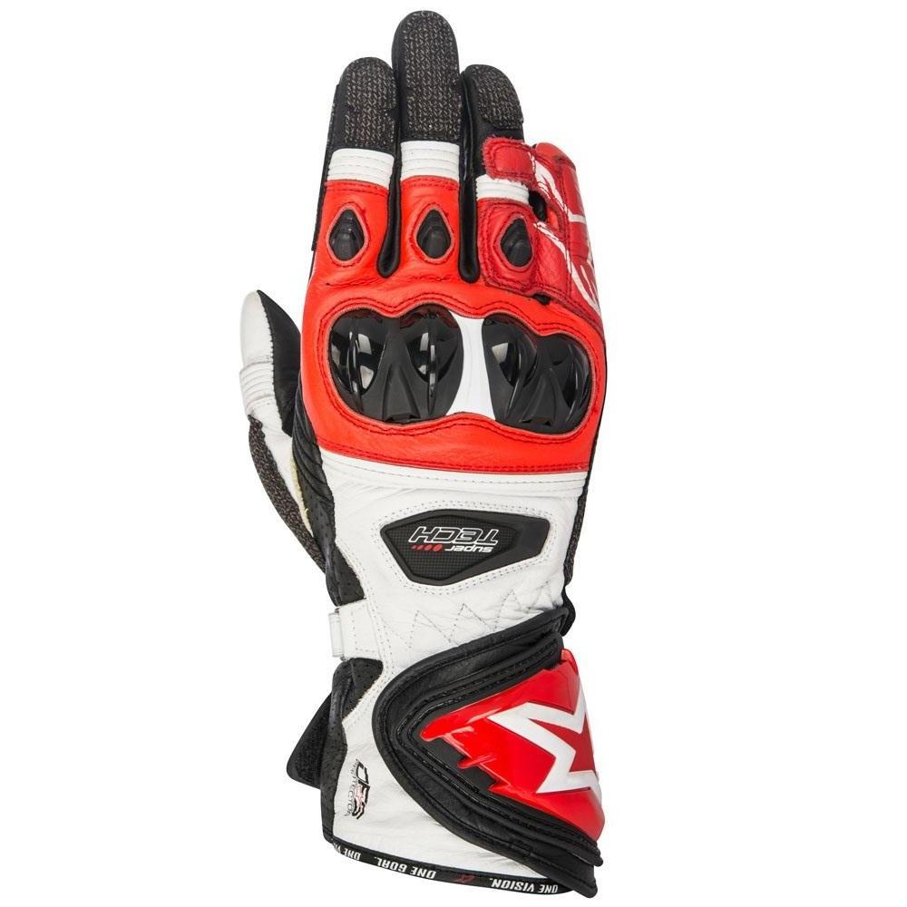 Alpinestars Supertech Black/White/Red Gloves