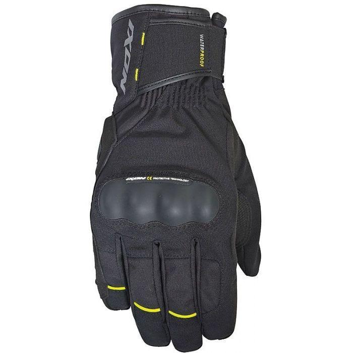 Ixon Pro Russel Black/Yellow Gloves