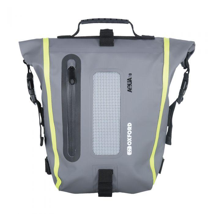 Oxford Aqua T8 Black/Grey/Fluo Tail Bag