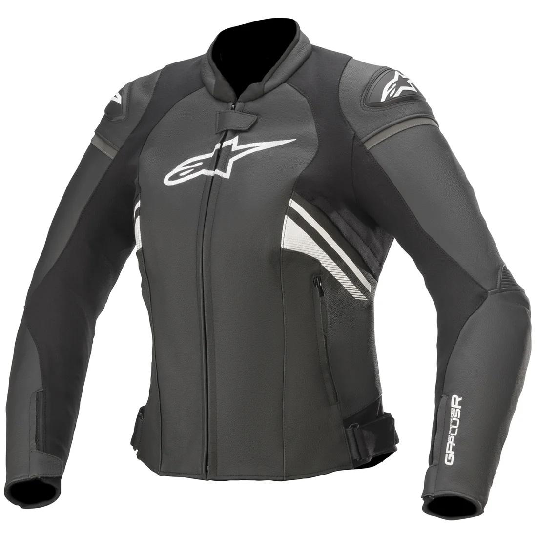 Alpinestars Women's Stella GP Plus R V3 Airflow Black/White Leather Jacket