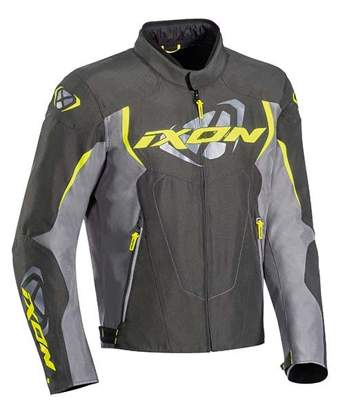 Ixon Cobra Anthracite/Grey/Bright Yellow Jacket