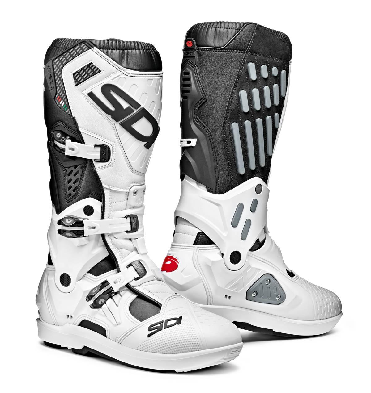 Sidi Atojo SRS Black/White Boots