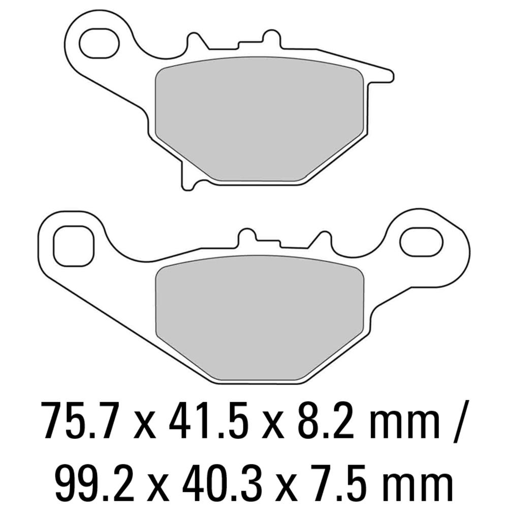 Ferodo FDB2133EF Brake Pads