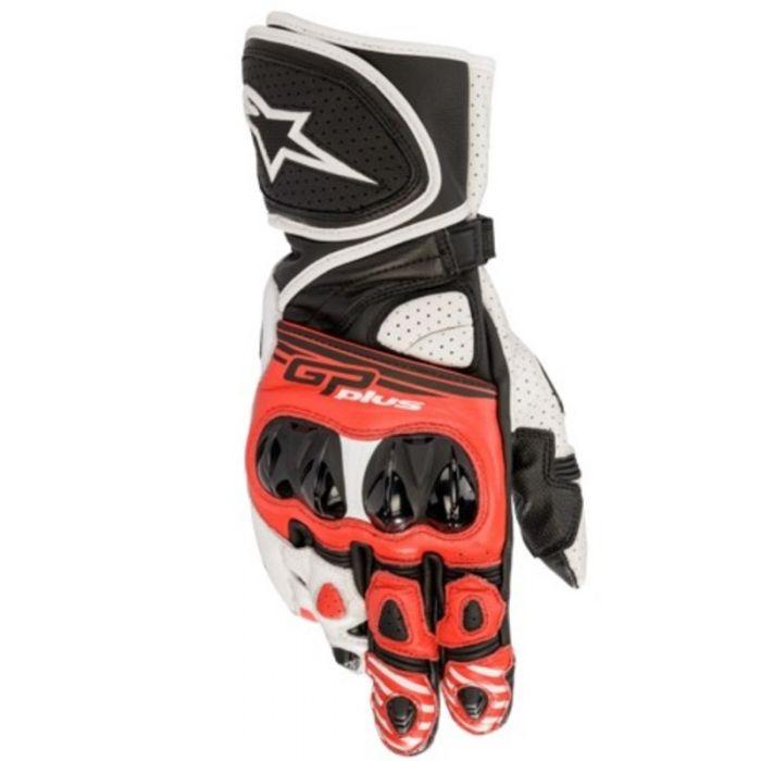 Alpinestars GP Plus R2 Black/White/Red Gloves
