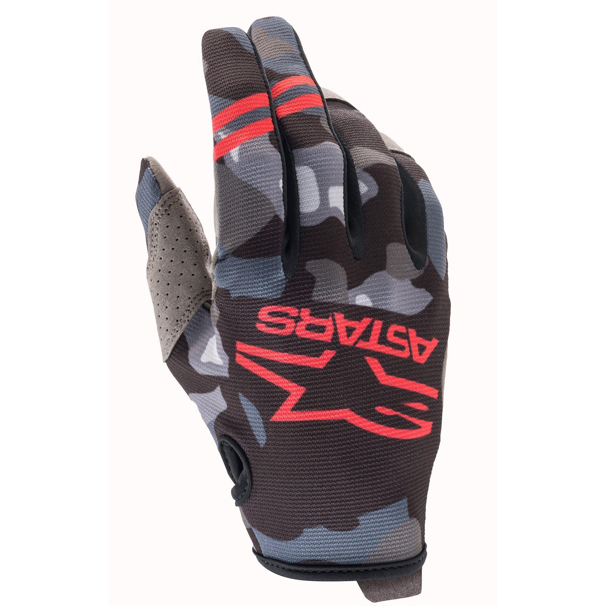 Alpinestars 2021 Radar Grey/Camo/Red Gloves
