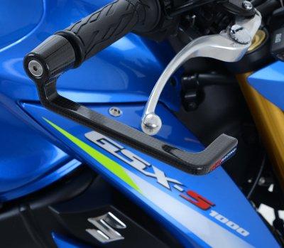 R&G Ducati Monster 797/Suzuki GSX-R1000/R600/R750/GSX-S 1000/ABS/FA/SV650X Carbon Fibre Lever Guard