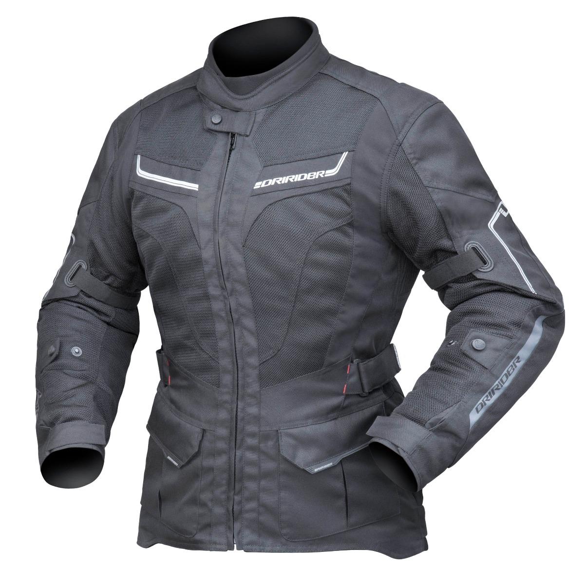 Dririder Women's Apex 5 Airflow Black Jacket
