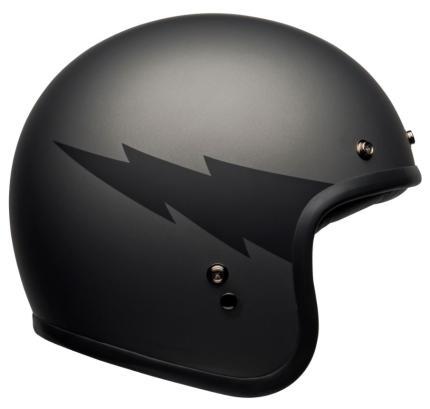 Bell Custom 500 Thunderclap Grey/Black Helmet
