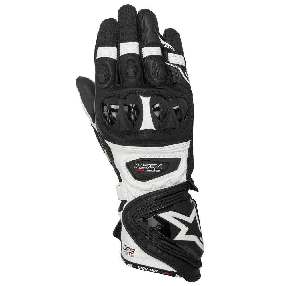 Alpinestars Supertech Black/White Gloves