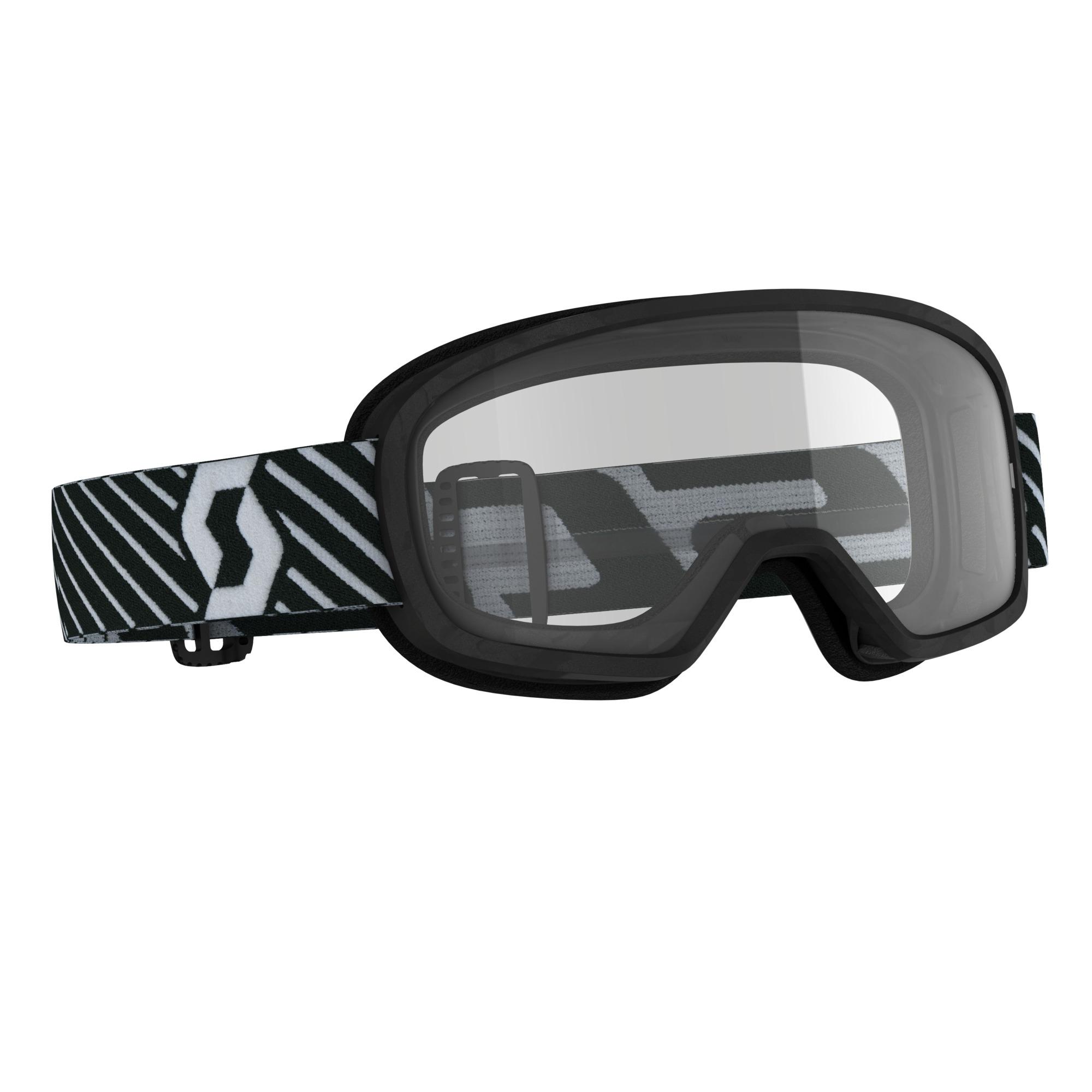 Scott Buzz MX Black Clear Goggle