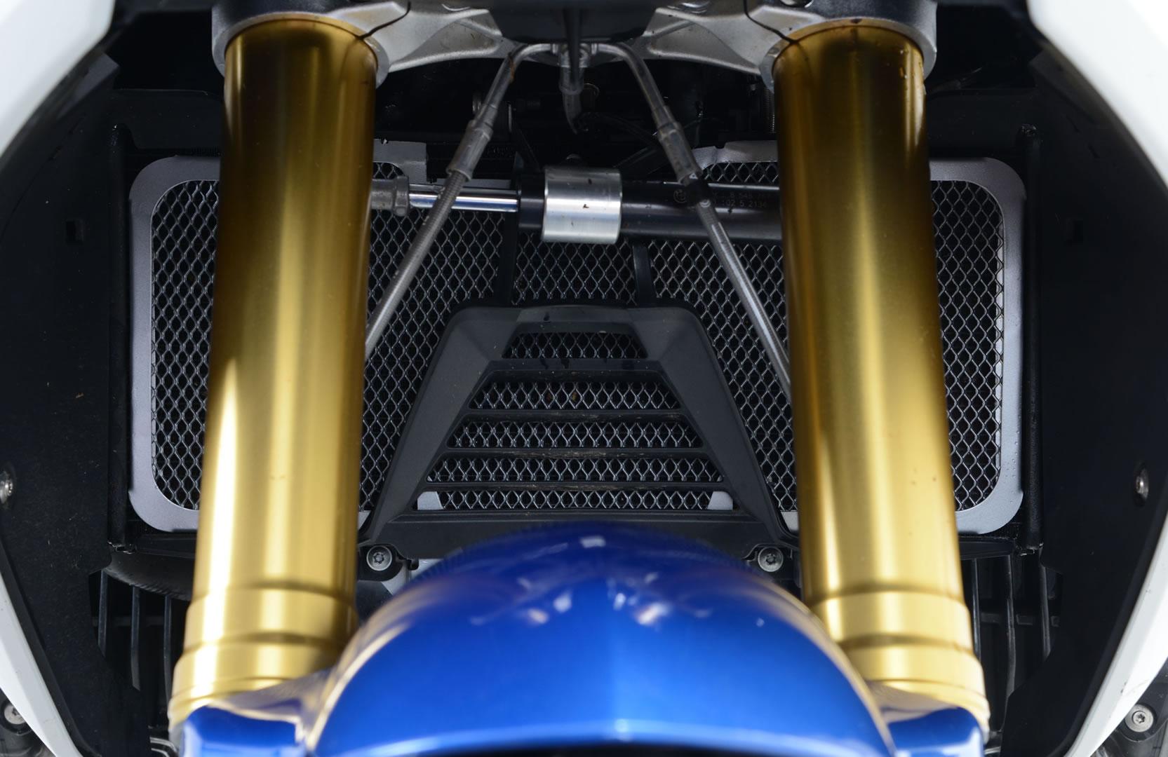 R&G BMW R1200R/RS Black Radiator Guards