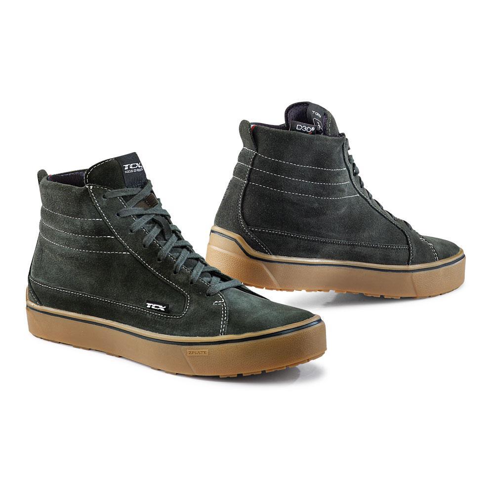 TCX Street 3 Green/Brown Boots