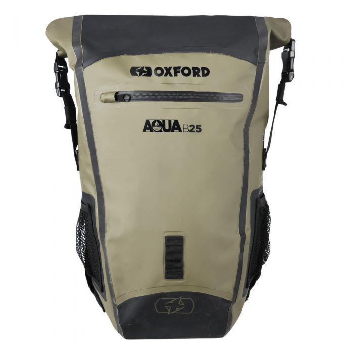 Oxford Aqua B-25 Khaki/Black Backpack