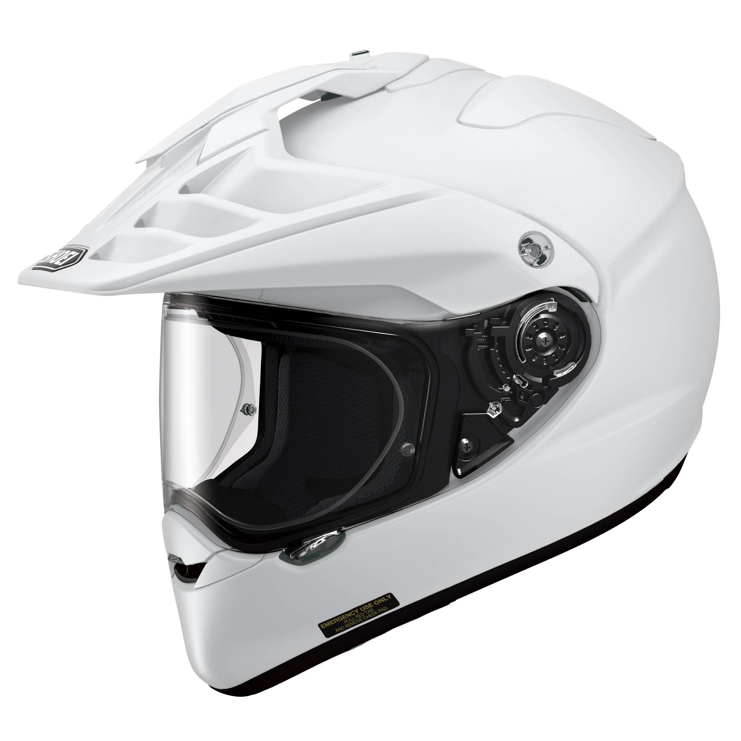 Shoei Hornet ADV White Helmet