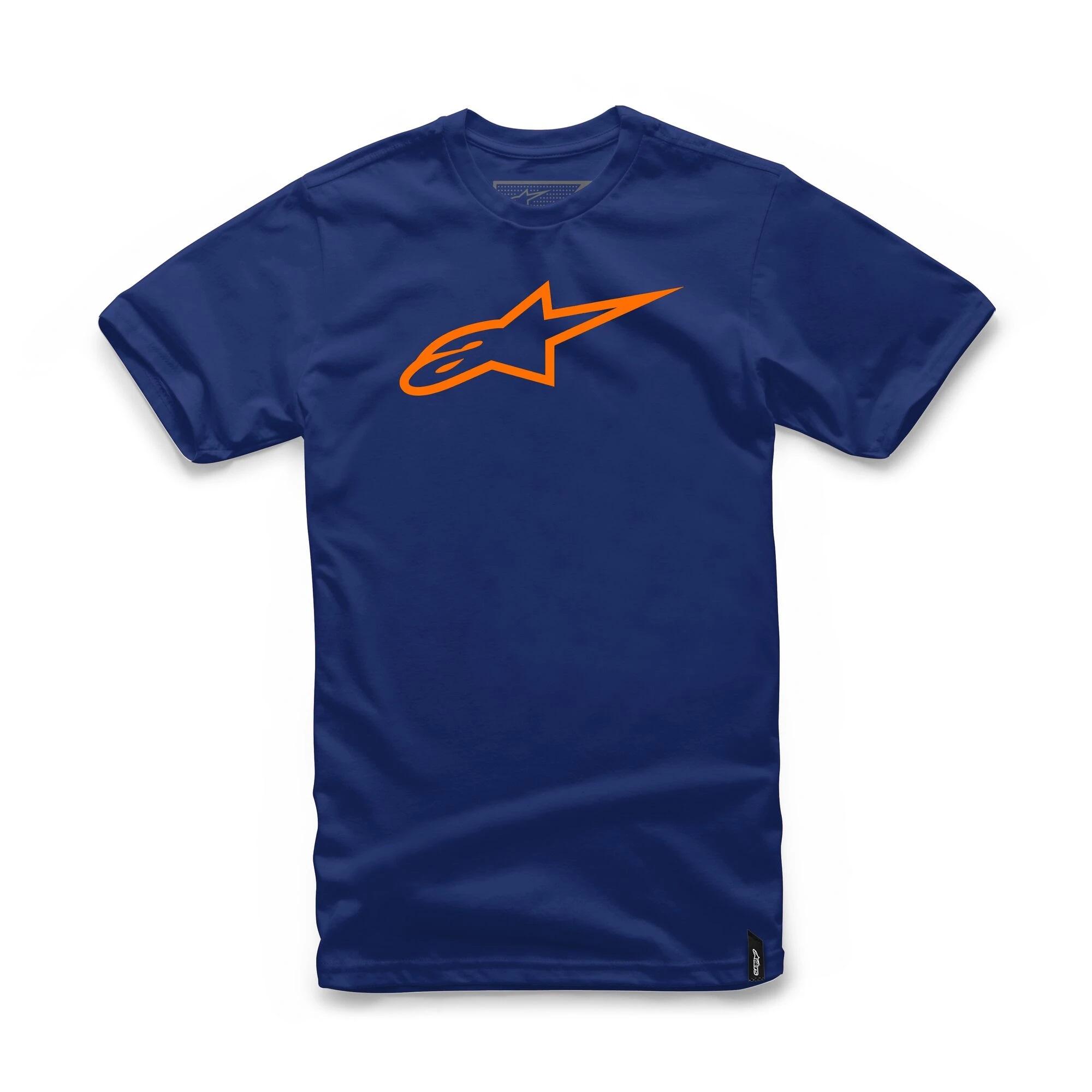 Alpinestars Ageless Classic Navy/Orange T-Shirt