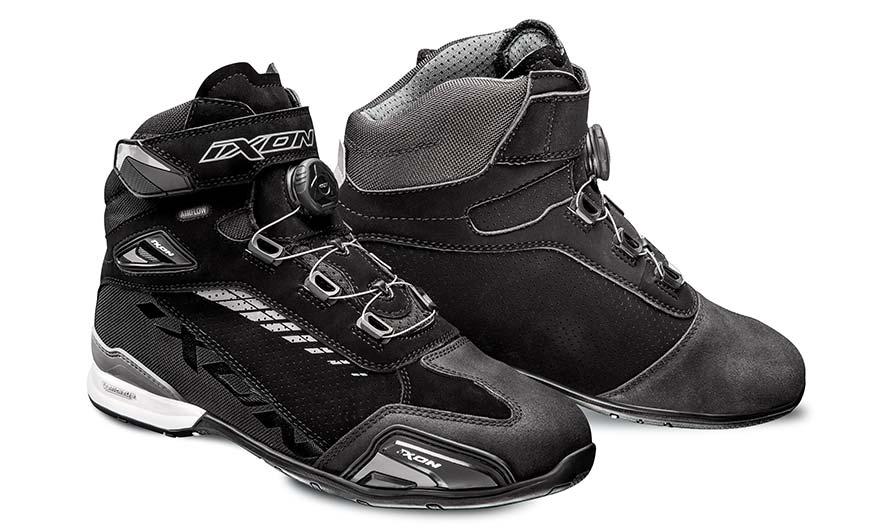 Ixon Bull Vented Black/Grey Boots