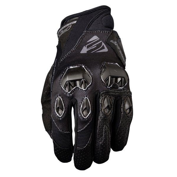 Five Stunt EVO Black Gloves