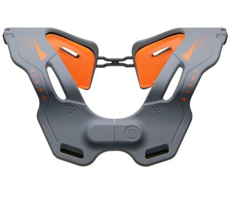 Atlas Brace Vision Grey/Orange Neck Collar