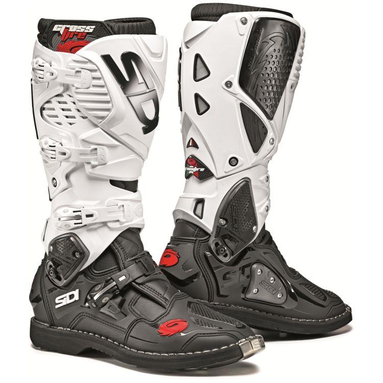 Sidi Crossfire 3 Black/White Boots